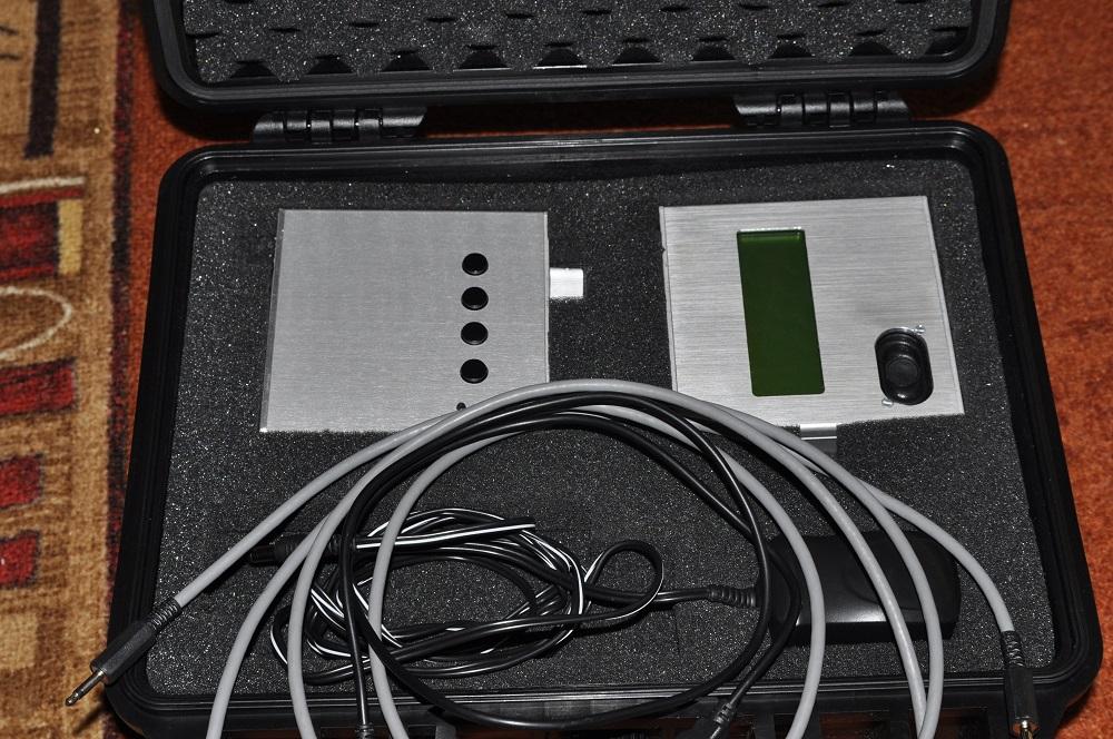CW-Koffer Keyer und Dekoder